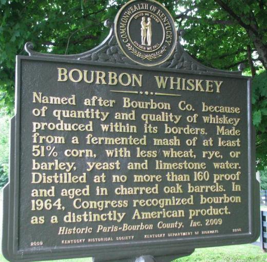 BourbonWhiskeyHistorySign