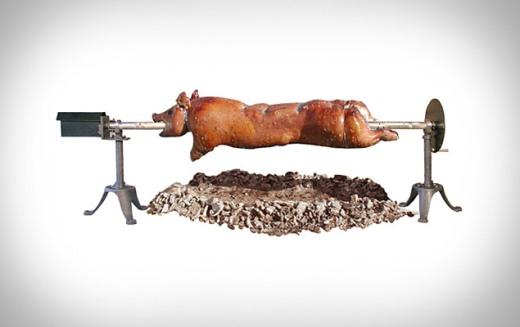 SpitJack Whole Hog Rotisserie