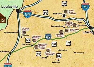 Holiday Plans for the Bourbon Trail   Kentucky BBQ and Bourbon on buffalo trace map, kentucky distillers, kentucky tennessee map, kentucky bardstown map, kentucky lincoln trail map, kentucky natural bridge trail map, mammoth cave park trail map, kentucky falls trail map, kentucky wine trail map, tennessee whiskey trail map, kentucky distillery map, kentucky driving map, kentucky mountain parkway map, water trail map, speyside scotland whiskey trail map, american whiskey trail map, louisville bourbon tour map, kentucky genealogical society, kentucky derby map, daniel boone wilderness trail map,