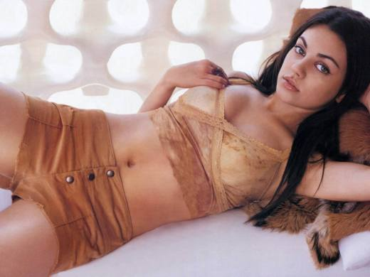 Mila Kunis: Love Me for My Bourbon, Not My Body